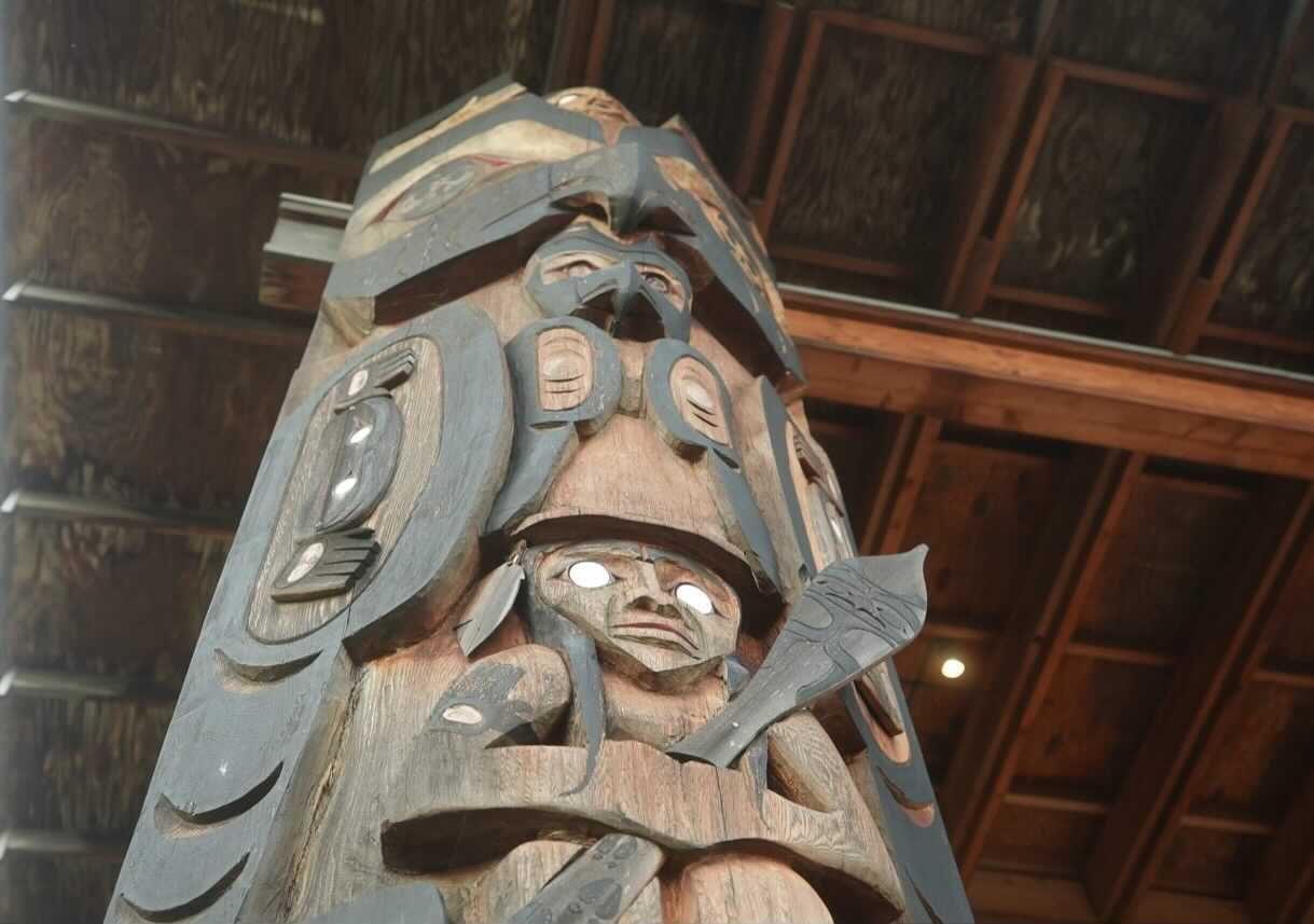S'Klallam Totem Pole