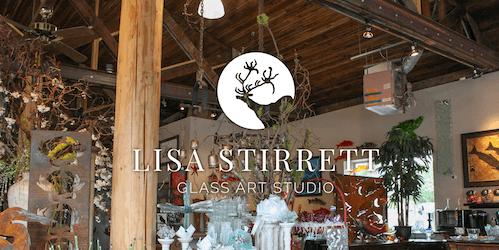 Lisa Stirrett glass art studio