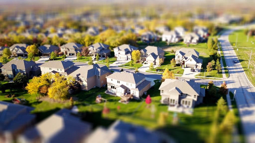 real estate model houses