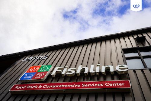 Fishline sign