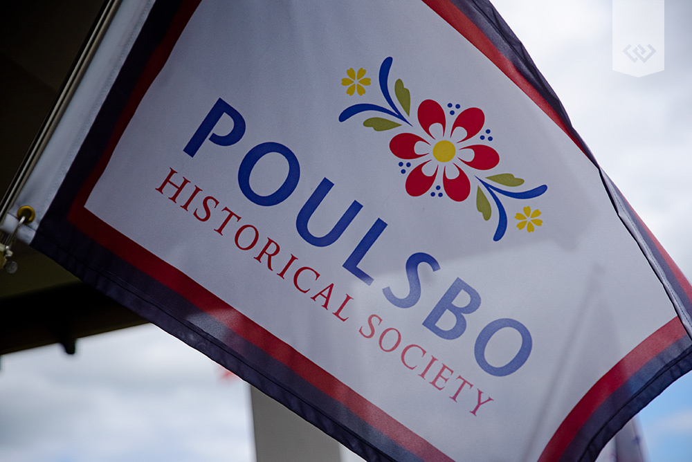 poulsbo historical society flag
