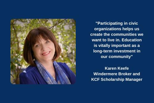 Kitsap Community Foundation quote Karen Keefe